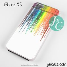 melted crayon Phone case for iPhone 4/4s/5/5c/5s/6/6 plus