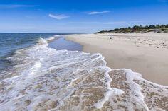 Beautiful sandy beach on Hel Peninsula, Baltic sea, Poland; Shutterstock ID… Baltic Sea, To Go, Vacation, Country, Beach, Scenery, Travel, Outdoor, Inspiration
