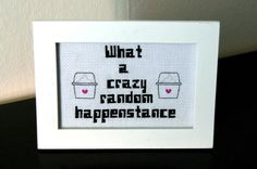PATTERN  Dr. Horrible  Crazy Random Happenstance  by WistfulBird, $3.00