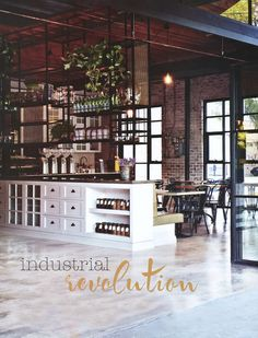 I would love to remodel an industrial space into a living space! #dreams