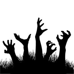 Halloween Season, Halloween Cards, Fall Halloween, Halloween Decorations, Halloween Templates, Halloween Patterns, Imprimibles Halloween, Zombie Drawings, Diy Screen Printing