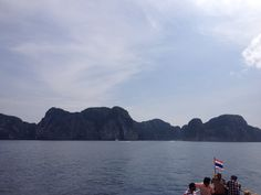 Heading to Maya Bay by Ferry