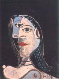 Pablo Picasso - Female bust (Dora Maar), 1938