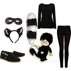 Lost Boy Peter Pan DIY Costume by veronicaashleylynn on Polyvore featuring DKNY, MANGO, TOMS and Disney