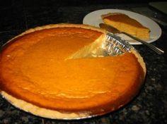 Splenda Pumpkin Pie   Best Diabetic Recipes Splenda