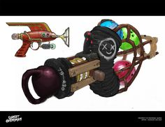 Sunset Overdrive concept art is as jovial as the game itself | VG247