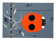 """""""Ladybug"""" for the Ford Times. Charley Harper"""