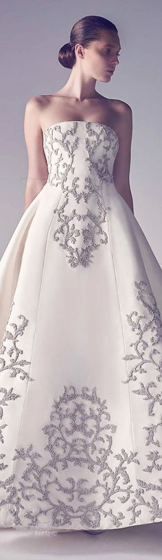 Ashi Haute Couture Spring Summer 2015. But i think this looks like a wedding dress
