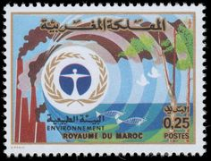 Morocco 1974 World Environmental Day unmounted mint.