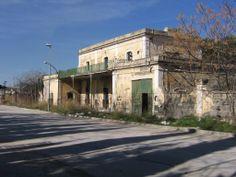 Estación FF.CC. de Martos. (Patrimonio histórico muy deteriorado)