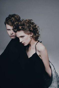 New Wave Couple Captures : Louis Simonon for Metal Magazine
