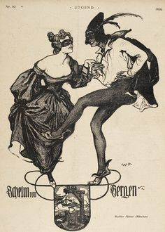 Jugend Zeitschrift Nr. 50, 1899