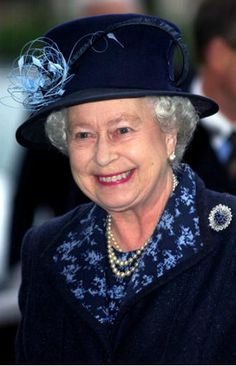 Queen Elizabeth, January 27, 2005 in Angela Kelly | Royal Hats.....Posted on May 23, 2014 by HatQueen