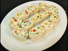 Tortilla Rollups or Tortilla Spring Rolls recipe video for crowd by Bhavna - YouTube