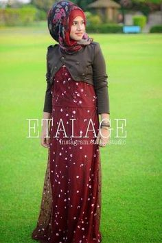 Latest Abaya Collection For Girls From Summer 2014 By Etalage | Fashionable Abayas For Muslim Girls