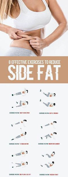 8 Effective Exercises To Reduce Side Fat of Waist - All Just You diet workout target