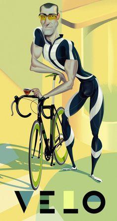 VISUALLY INSPIRING BICYCLE ART
