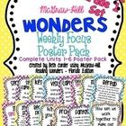 This download is for the COMPLETE UNITS 1-6 SET of my First Grade Weekly Focus Poster Packs for the McGraw-Hill Wonders Series! I have had many req...