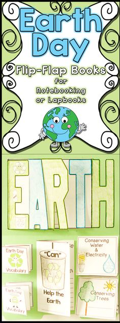 Earth Day will be TONS of FUN with this Interactive Unit.  Your students' heads and hands will be very busy LEARNING and having FUN at the same time!  Check it out!$