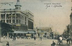 West Street – Durban – A Pictorial History African History, South Africa, Documentaries, Street View, City, Places, Apartheid, Travel, Zulu