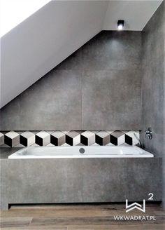 Zdjęcie z realizacji projektu łazienki z mozaiką heksagonalną Stairs, Home Decor, Stairway, Decoration Home, Room Decor, Staircases, Home Interior Design, Ladders, Home Decoration