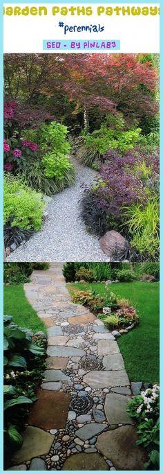 Precious Tips for Outdoor Gardens - Modern Planting Vegetables, Vegetable Garden, Stone Garden Paths, Gravel Garden, Decorative Gravel, Path Ideas, Lawn Edging, Natural Garden, Small Trees