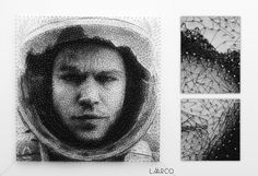 Laarco Studio   London, UK   String Art, Algorithmic Art, Customized Portraits