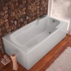 @Overstock.com - Eros White 60x32-inch Soaker Tub - This Eros white soaker tub is ideal for creating the bathroom of your dreams. With this Atlantis bath tub, you can relax into comfort on a non-porous surface that is easy to clean. http://www.overstock.com/Home-Garden/Eros-White-60x32-inch-Soaker-Tub/5881225/product.html?CID=214117 $872.99
