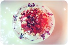 Sunne snackstips Raspberry, Strawberry, Healthy Snacks, Healthy Lifestyle, Lunch, Dinner, Fruit, Food, Blogging