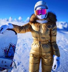 Ski Bunnies, Down Suit, Bunny Suit, Winter Suit, Snow Fashion, Catsuit, Cold Weather, Skiing, Winter Jackets