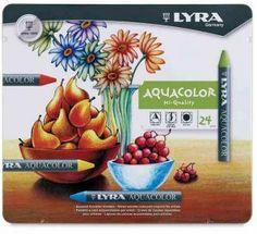 Lyra Aquacolor Pastel Boya Sulandırılabilir 24 Renk