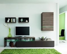 Amsterdam Combination-11887 Modern Wall Unit by Creative Furniture