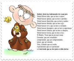 São Francisco de Assis, o santo da harmonia...   News da Cris