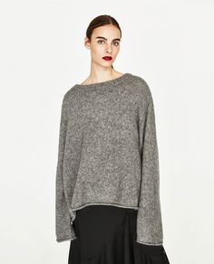 ZARA - COLLECTION SS/17 - OVERSIZED SWEATER