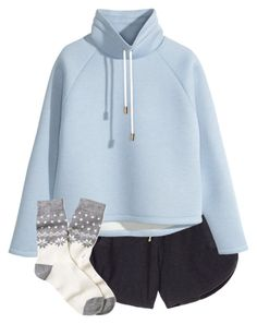 """""""Relax"""" by kaciwiens ❤ liked on Polyvore featuring Victoria's Secret, H&M and Brooks Brothers"""