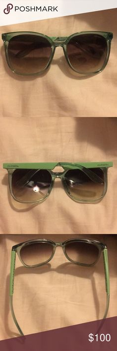 Carrera sunglasses Brand new!! Never worn!! Teal sunglasses Carrera Accessories Sunglasses