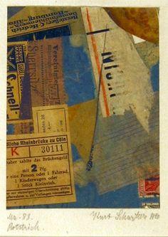 """Kurt Schwitters """"Deux tableaux merz, de 1920 et 1921"""""""