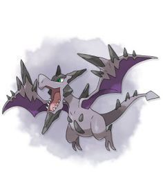 MEGA AERODACTYL. Type: ROCK/FLYING. Ability: Tough Claws. Mega Stone Location: Ambrette Town - Given to you.
