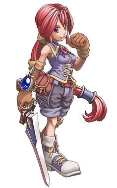 Monica from Dark Cloud 2