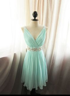 Sweet baby blue dress