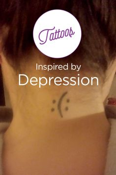 Inspiring collection of depression-related tattoos. Keep reading to get inspired by those battling depression but keep on going.