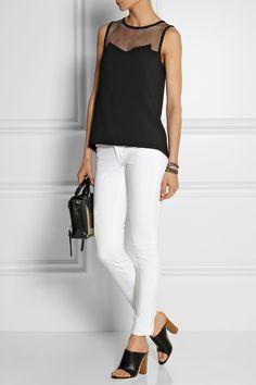 J Brand|811 mid-rise skinny jeans