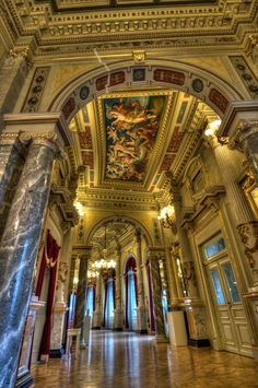 Semperoper Dresden - Historic ballet/concerts/opera house. Not open to tourists, have to see a show.