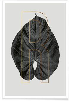 Plants R als Premium Poster von typealive   JUNIQE