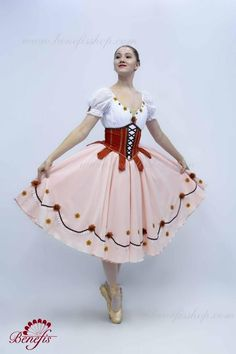 Ballet costume / P Dance Costumes Ballet, Cute Dance Costumes, Ballerina Costume, Costumes For Sale, Ballet Tutu, Long Tutu, Types Of Lace, How To Make Lanterns, Costume Shop