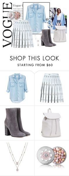 """""""Ahh, those cold things"""" by annaruto ❤ liked on Polyvore featuring Rails, Moschino, Gianvito Rossi, Aéropostale, Guerlain and Casetify"""