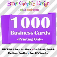 Mini business card printing 500 cards full color glossy or matte 1000 business cards reheart Choice Image