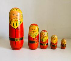 Excited to share this item from my shop: Vintage Father Christmas Russian dolls, Christmas Decorations Father Christmas, Christmas Gifts, Christmas Decorations, Jolly Holiday, Antique Metal, Oil Lamps, Drinking Tea, Vintage Decor, Vintage Christmas