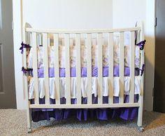 Deluxe Mini Crib 4 Piece Bedding Set