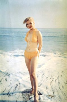 Young Marilyn.... Just shows that beauty wasn't always a size 0